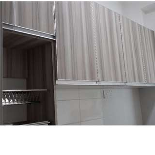 Wall mounted custom made Kitchen Cabinet