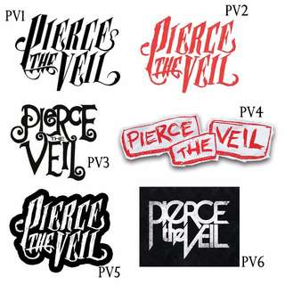 PIERCE THE VEIL/PTV STICKERS