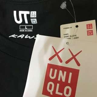Uniqlo X kaws 聯名短T