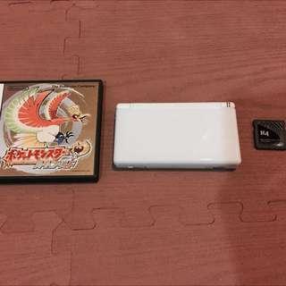 全配NDSL+日版原裝心靈金卡帶+R4卡