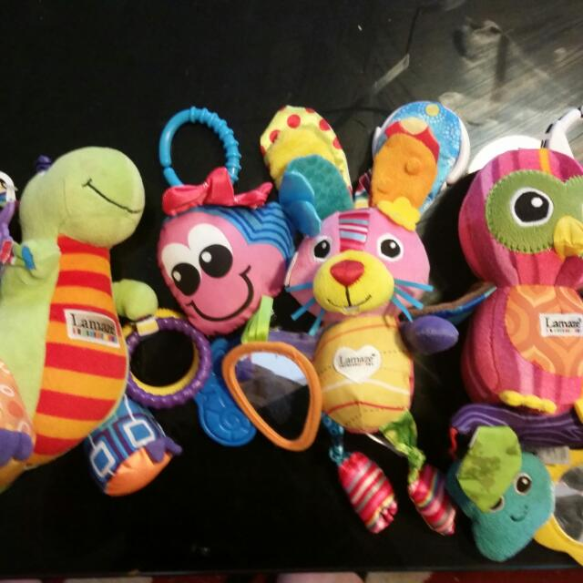 3 Lamaze Toys And One Other