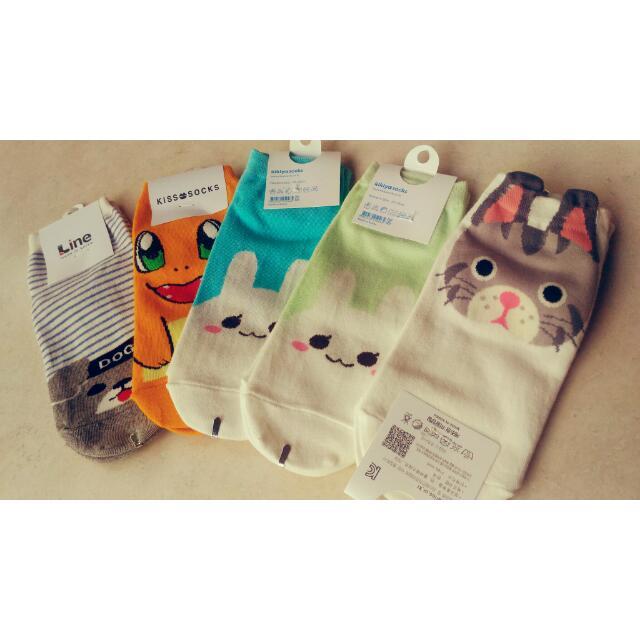 現貨韓國🌼可愛襪子買十送一