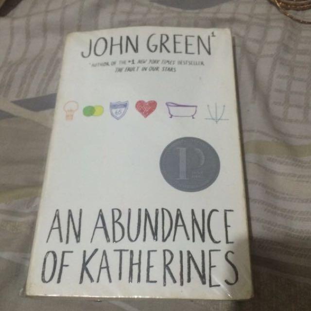 Reserved: Abundance Of Katherines