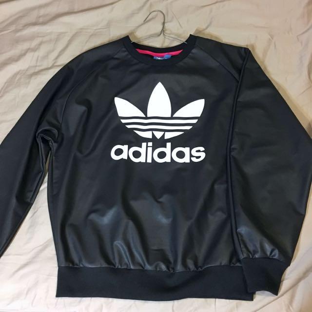 ADIDAS Black Sweatshirt Womens 8