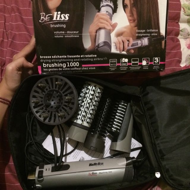 Babyliss Beliss 4in 1 Rotating Brush
