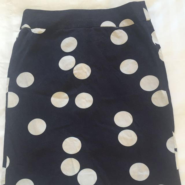 Banana Republic Polka Dot Skirt