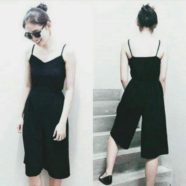 Basic Black Jumpsuit