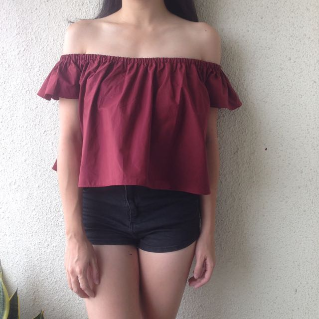 Basic Off Shoulder Top