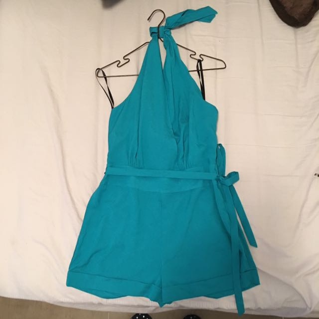 Bebe Turquoise Playsuit