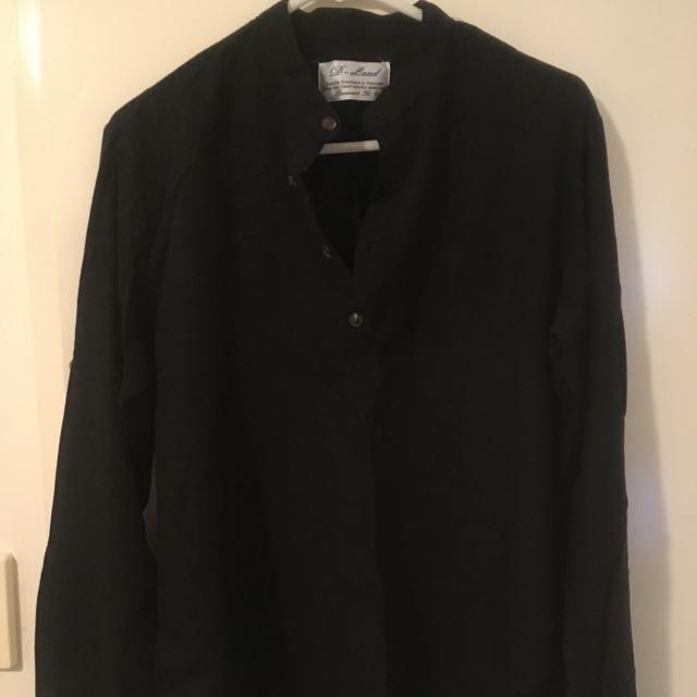 China Neck Shirt