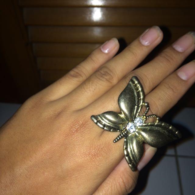 Cincin Butterfly