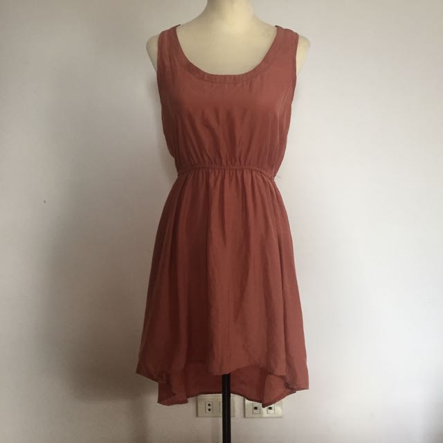 Cotton On Brown High-low Dress