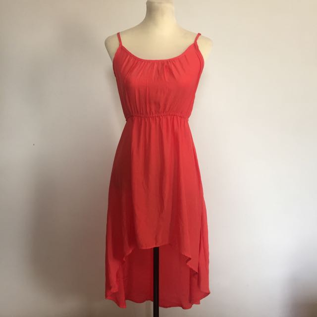 Cotton On Orange High-low Dress