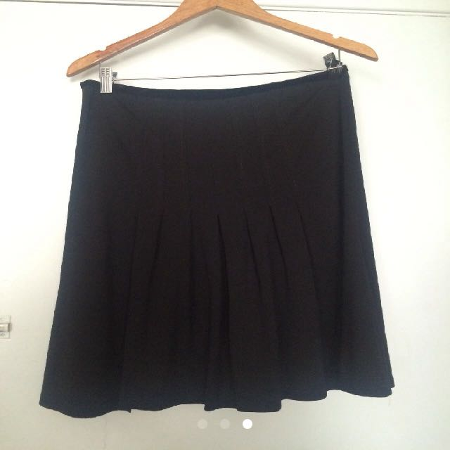 Diane Von Furstenburg Wool Skirt