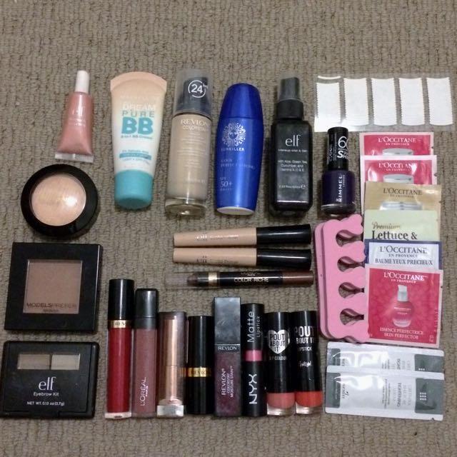 -ON HOLD- Drugstore makeup bundle
