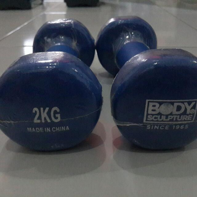 Dumbbell 2 KG Body Sculpture