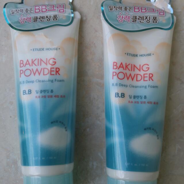 Etude House Baking Powder Cleansing Foam
