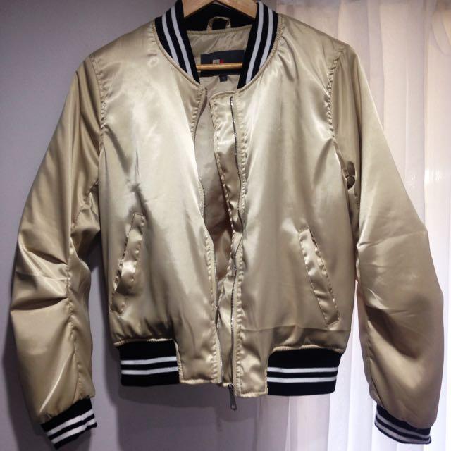 Gold Bomper Jacket