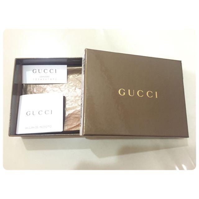 Gucci紙盒