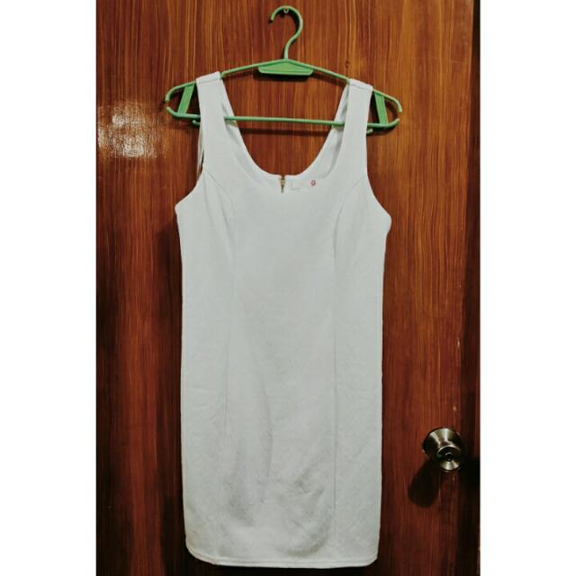 Guess White Sleeveless Dress