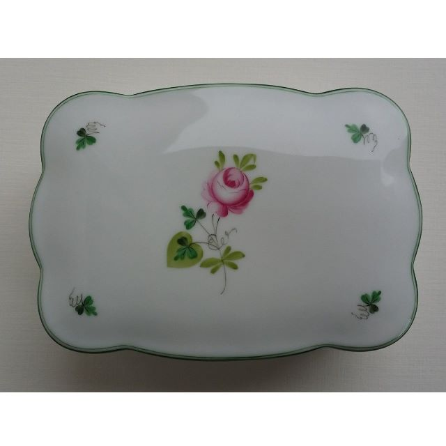 Herend VRH Vieille Rose de Herend trinket box