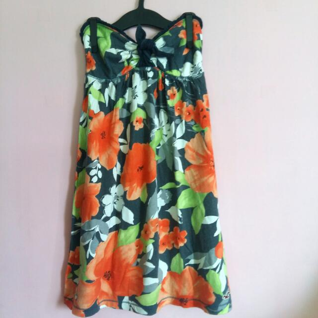 Hollister Floral Tube Dress