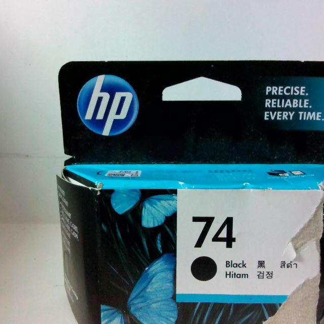 HP NO.74 原廠黑色墨水匣