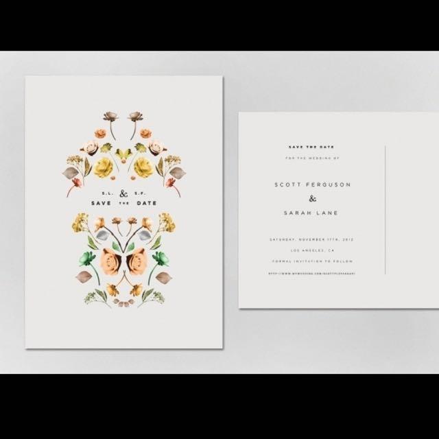 Invitation design & printing