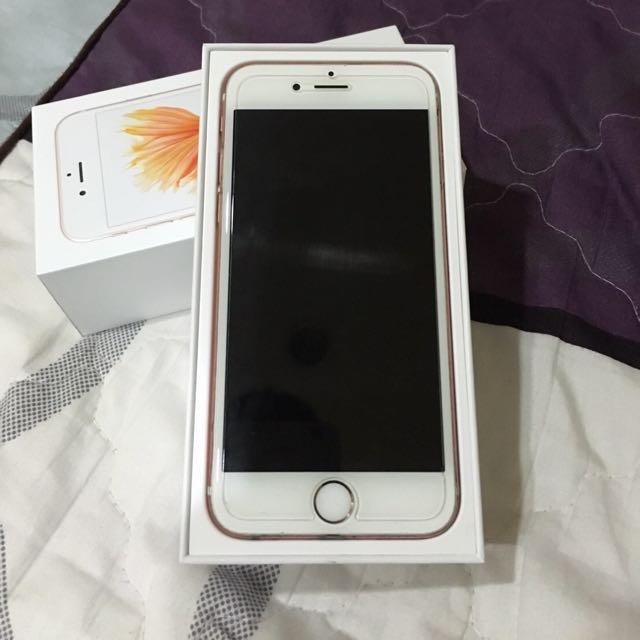 iPhone 6s 64g玫瑰金