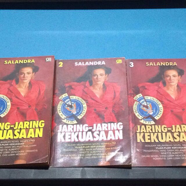 Jaring Jaring Kekuasaan - Salandra Novel Preloved
