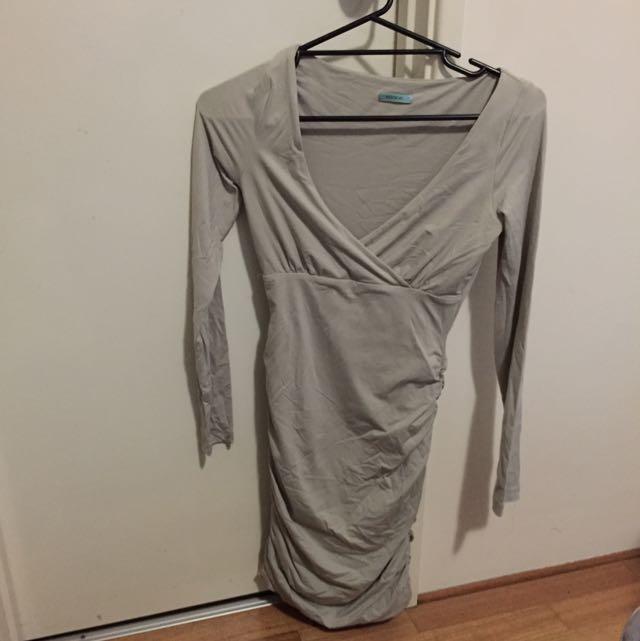 Kookai Grey Dress Size 1