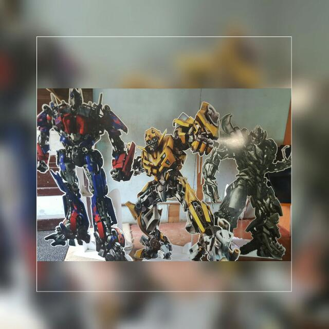 Lifesize Transformer Characters For Theme Party