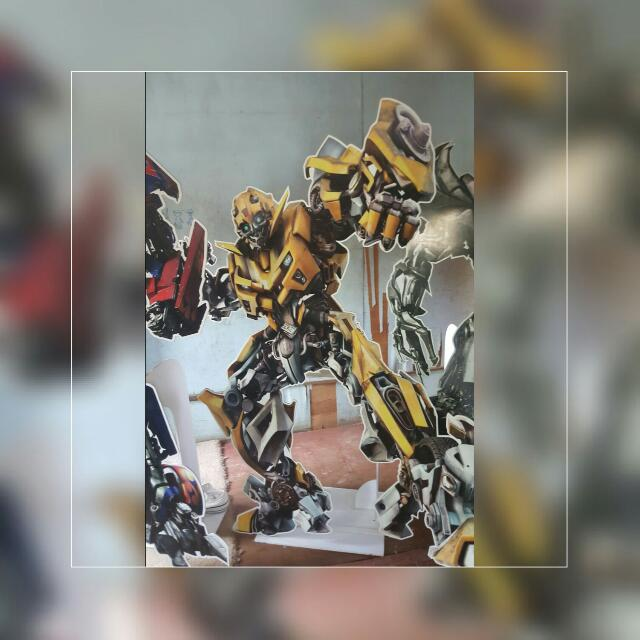 Lifesize Transformer Characters For Theme Party - Bumble Bee