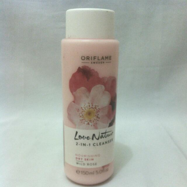 Oriflame Love Nature 2in1 Cleanser Rose Wild