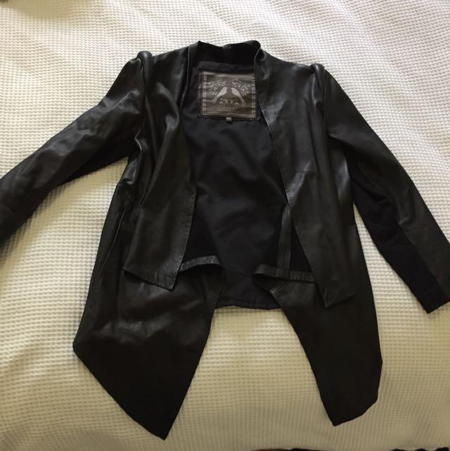 Mister Zimmi Leather Jacket