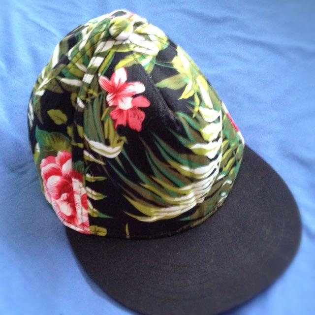 Pretty Floral Hat