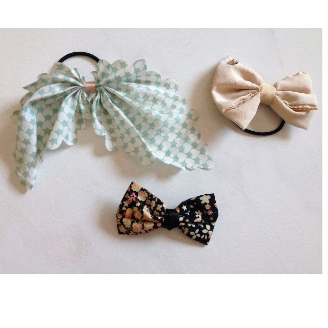 Pretty Pony Tails and Ribbon Clip On (Offer: sgd 5 for all 3 items)