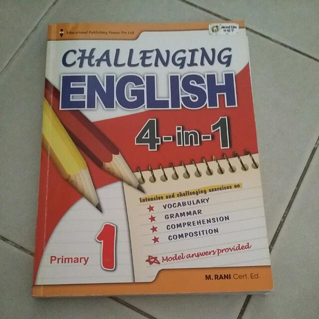 Primary 1 English And Maths Assement Book Books Stationery Magazines Others On Carousell