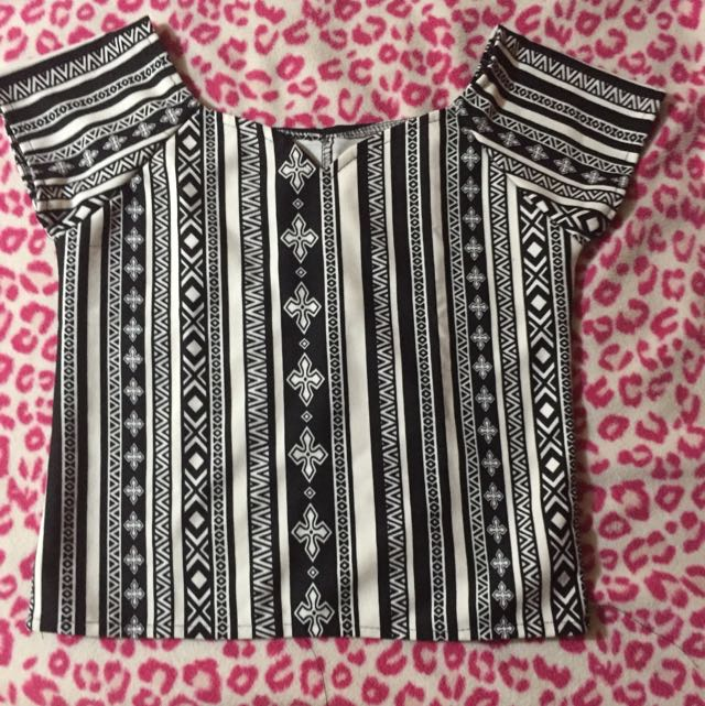 Printed Mini Off Shoulder