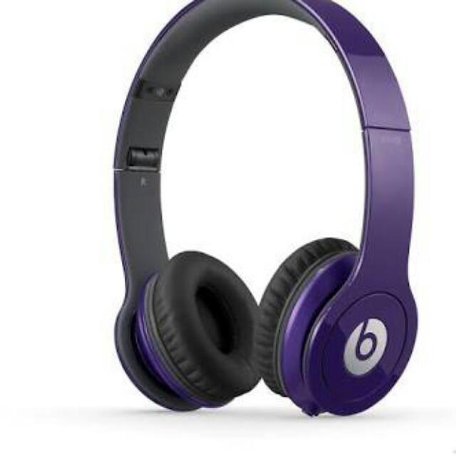 Purple Beats By Dre Limited Edition