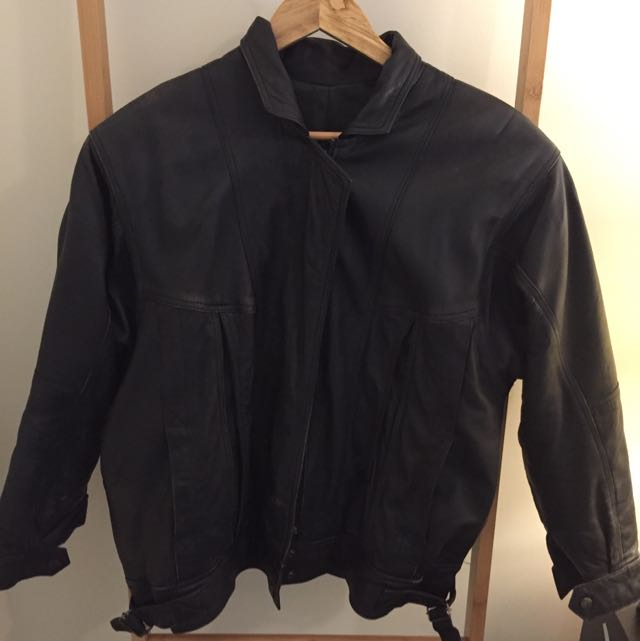 Real Leather Black Jacket