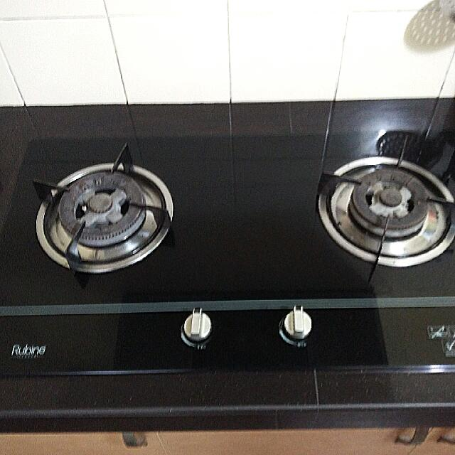 Rubine Gas Stove Top 2 Burners Hob Built In Kitchen Liances On Carou