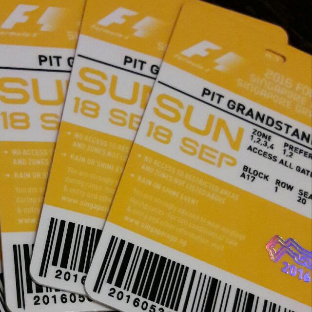 Singapore F1 Pit GRANDSTAND-Imagine Dragon Concert!