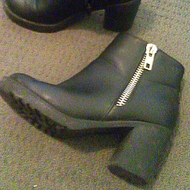 Size 7 Black Boots