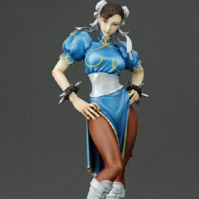Street Fighter Chun Li Figure Yamato Figurine Statue Mint Toys Games Bricks Figurines On Carousell
