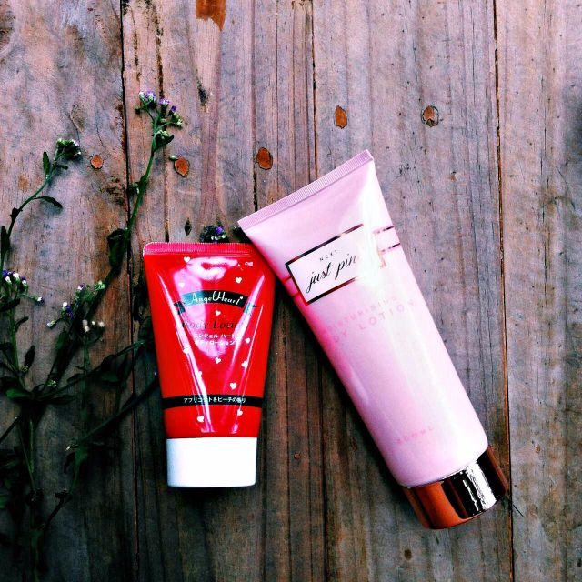 Take all - angel heart + Just pink body lotion
