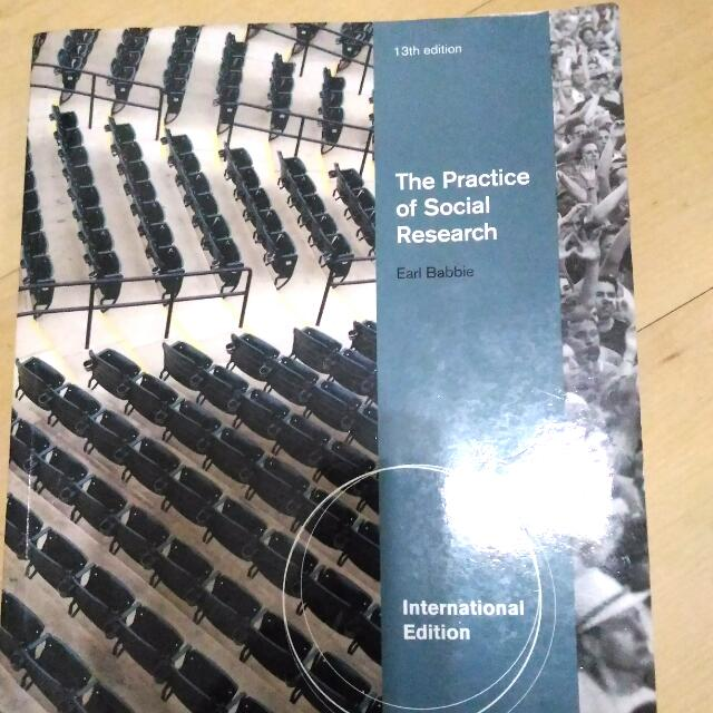 The Practice of Social Research 13th