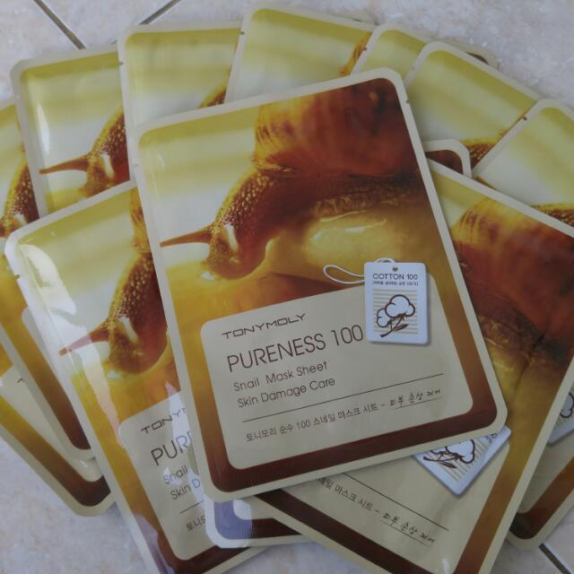 Tony Moly Snail Mask Sheet Original