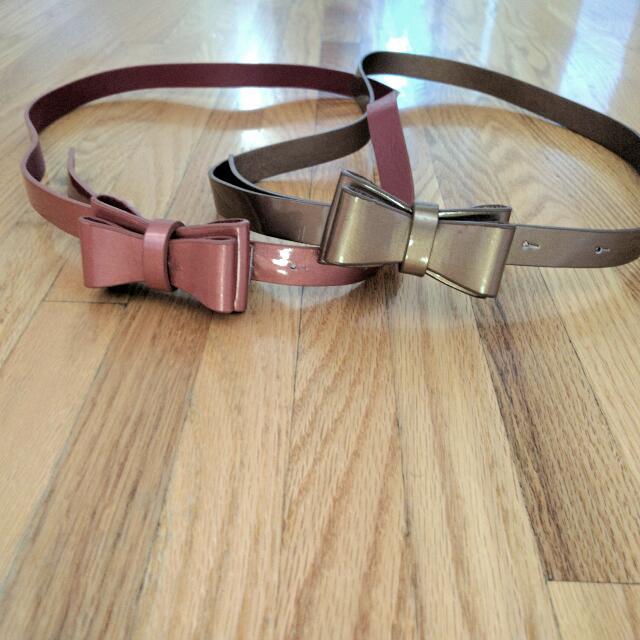 Topshop Plastic Waist Belts