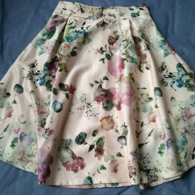 Vintage's flare skirt